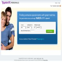 Yahoo dating sites